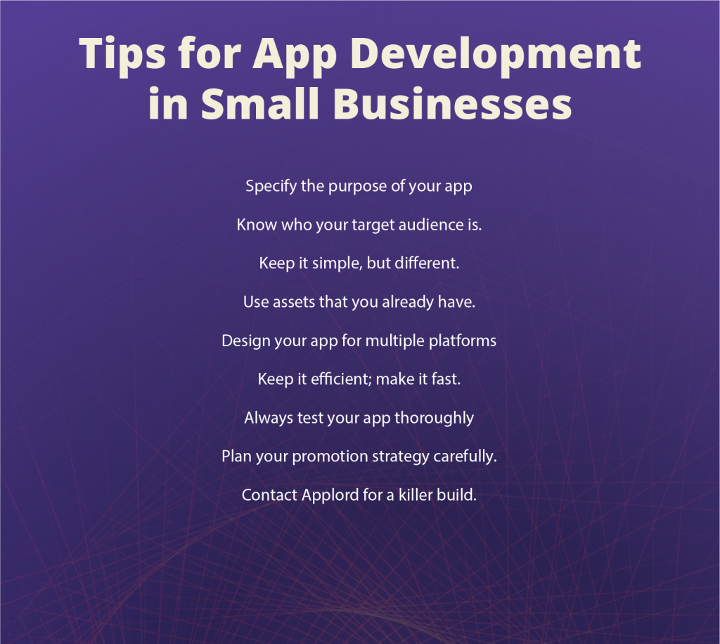 10 tips for app dev in small businesses